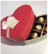 10 Hearts Shaped Genuine Condoms