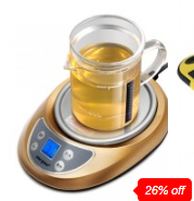 Meyou Electric Warmer With Glass Teapot